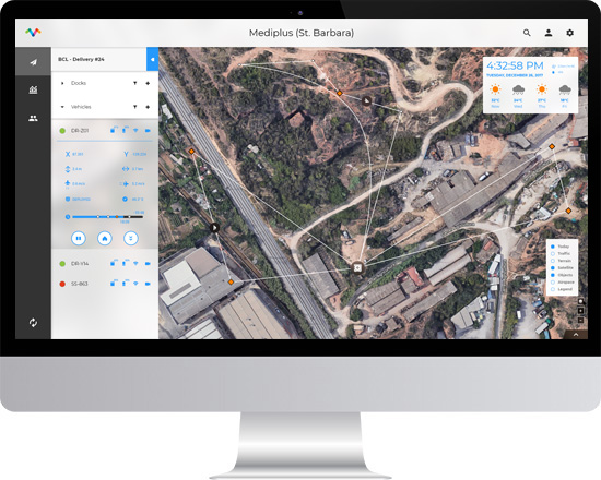 drone delivery software solutions